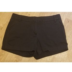 J.Crew Black Chino Shorts